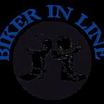 Biker in Line Logo